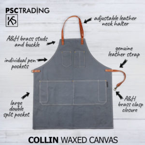 PSC Trading - KSD Collins Waxed Canvas Apron