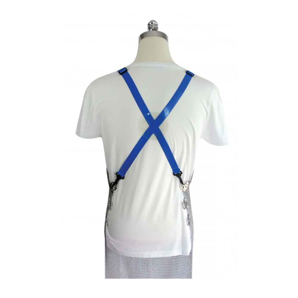 PSC trading - Mesh Apron Harness blue Polyester-back