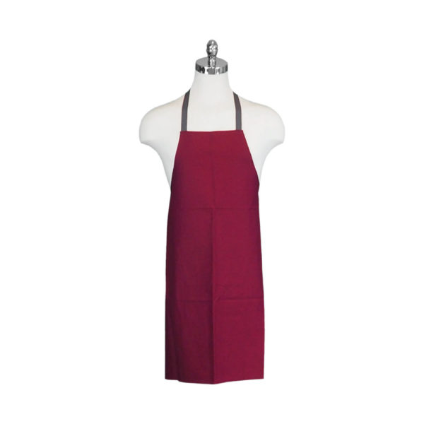 PSC trading - Poly Cotton Bib Apron -red