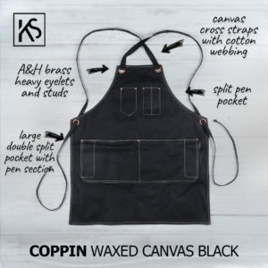 Coppin Waxed Canvas Apron