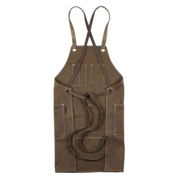 PSC Trading - KSD Waxed Canvas Heavy Duty Tool Apron Copppin Back